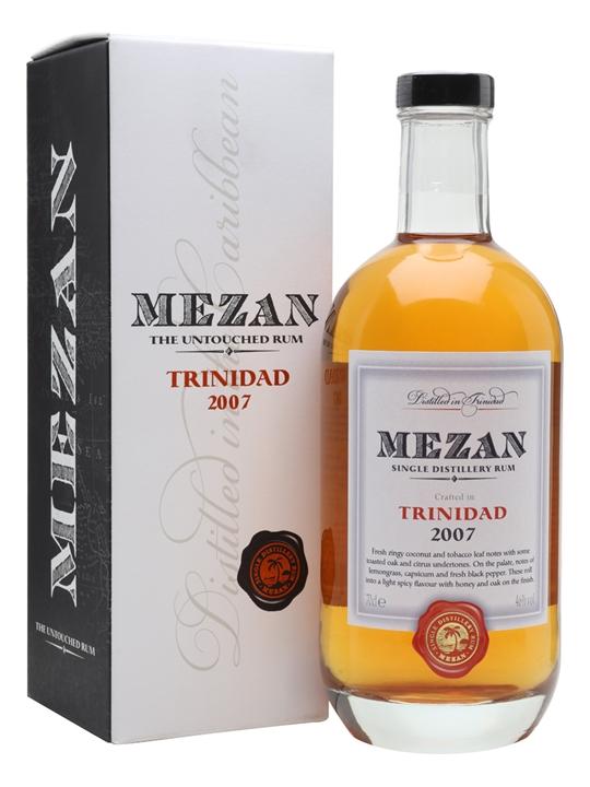Mezan Trinidad 2007 Rum Single Modernist Rum