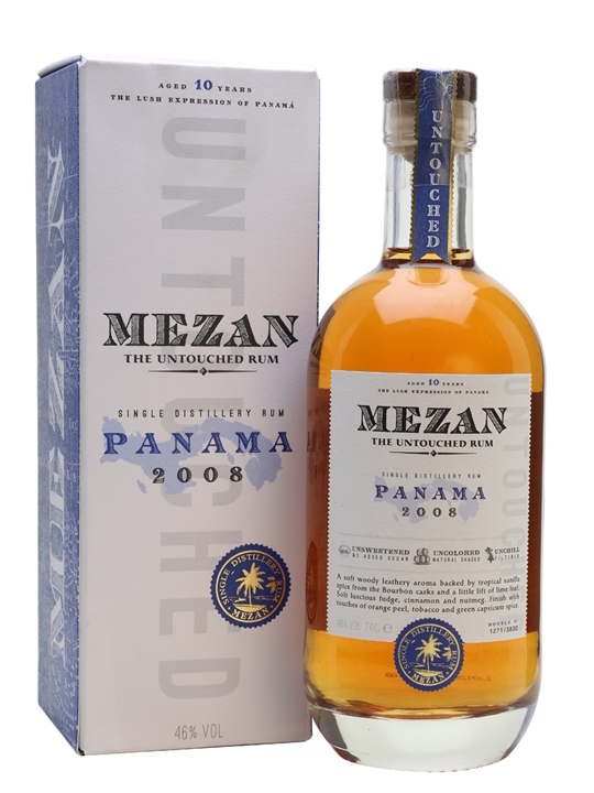 Mezan Panama 2008 Rum Single Modernist Rum