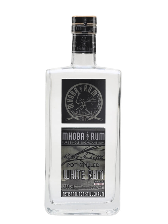 Mhoba Pot Stilled White Rum Single Traditional Pot Rum