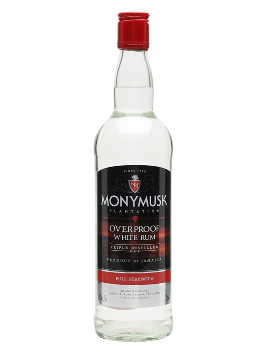 Monymusk Overproof White Rum Single Traditional Column Rum