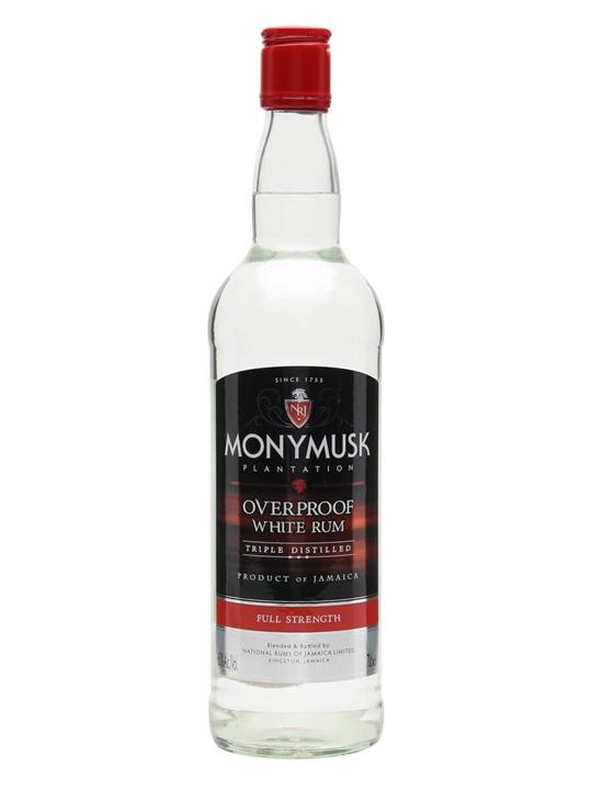 Monymusk Overproof White Rum Single Traditional Column Rum