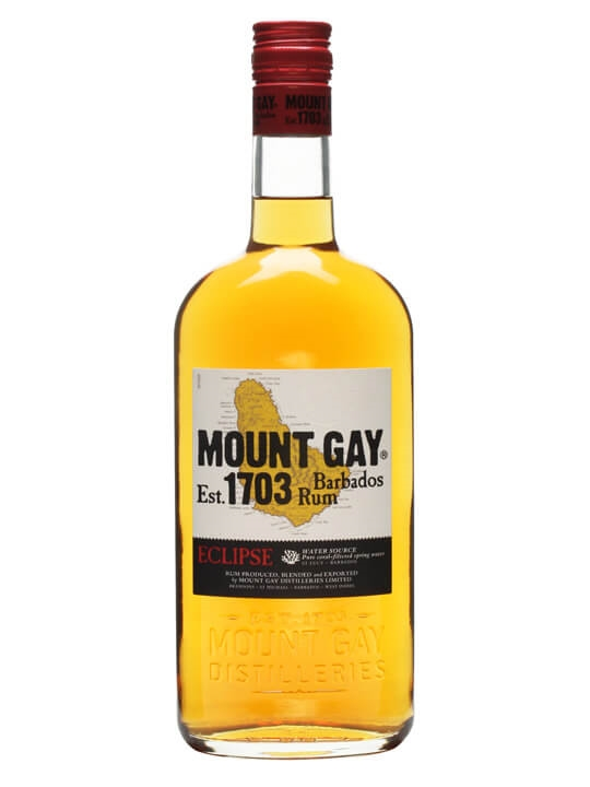 Mount Gay Eclipse Rum Single Traditional Blended Rum