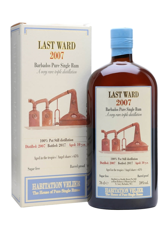 Last Ward 2007 / Habitation Velier Single Traditional Pot Rum