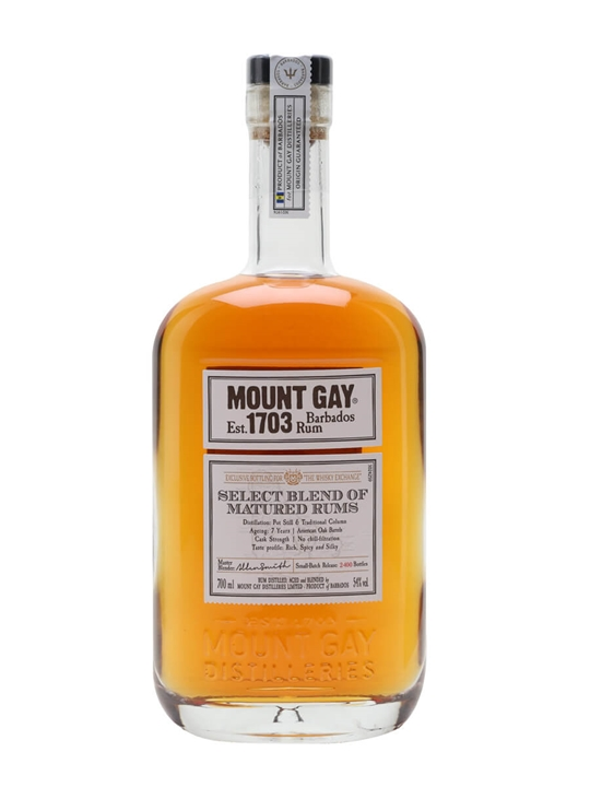 Mount Gay Select Blend / TWE Exclusive Single Traditional Blended Rum