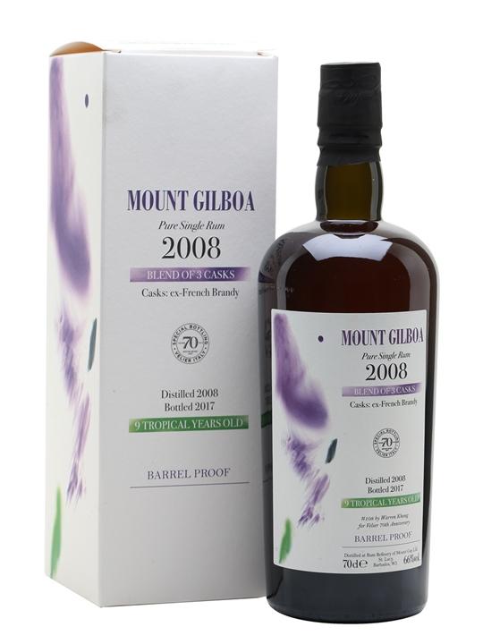 Mount Gilboa 2008 / 70ans Velier Single Traditional Pot Rum