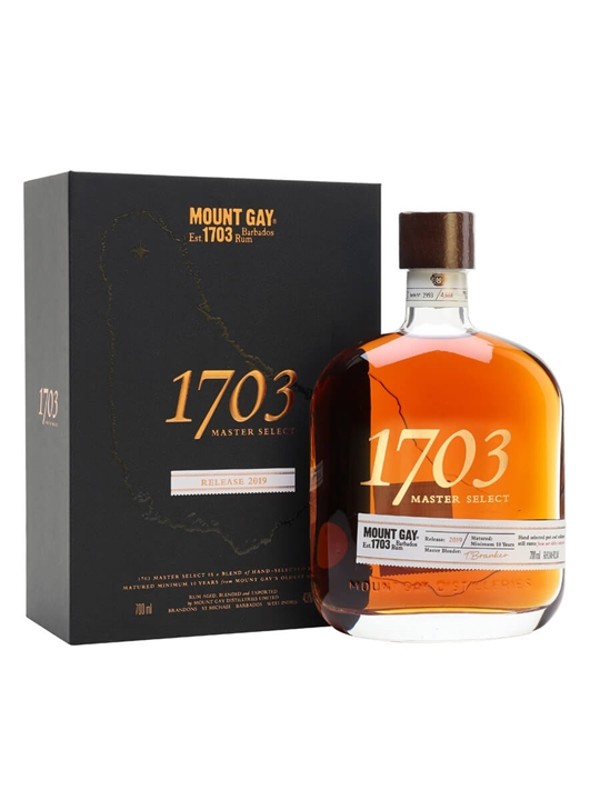 Mount Gay 1703 Master Select Rum / 2019 Edition