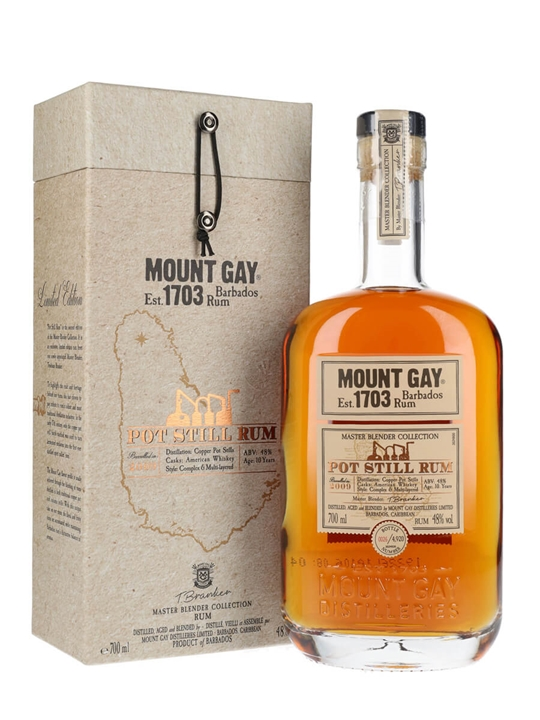 Mount Gay XO Pot Still Rum Single Traditional Pot Rum