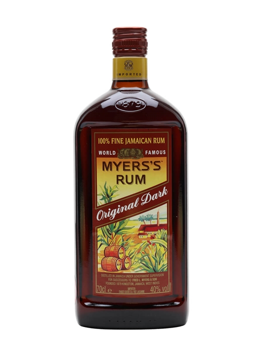 Myers's Rum / Original Dark Blended Modernist Rum