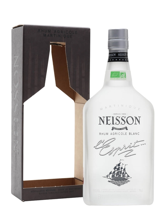 Neisson L'Esprit Blanc Rum Single Traditional Column Rum