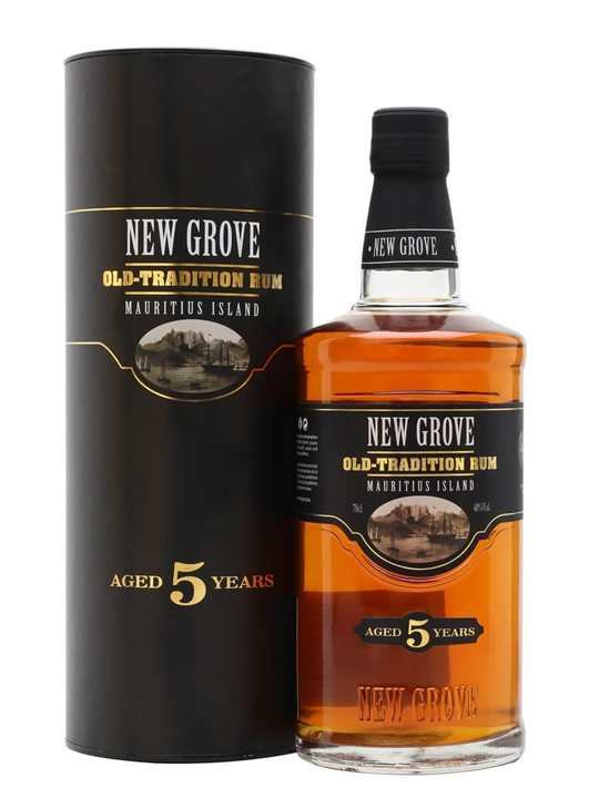 New Grove 5 Year Old Aged Rum Single Traditional Column Rum