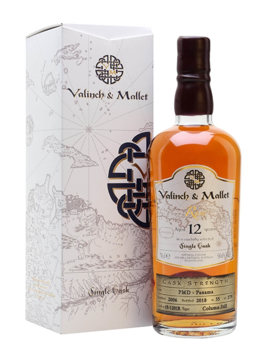 PMD Panama 2006 / 12 Year Old / Valinch & Mallet Single Modernist Rum