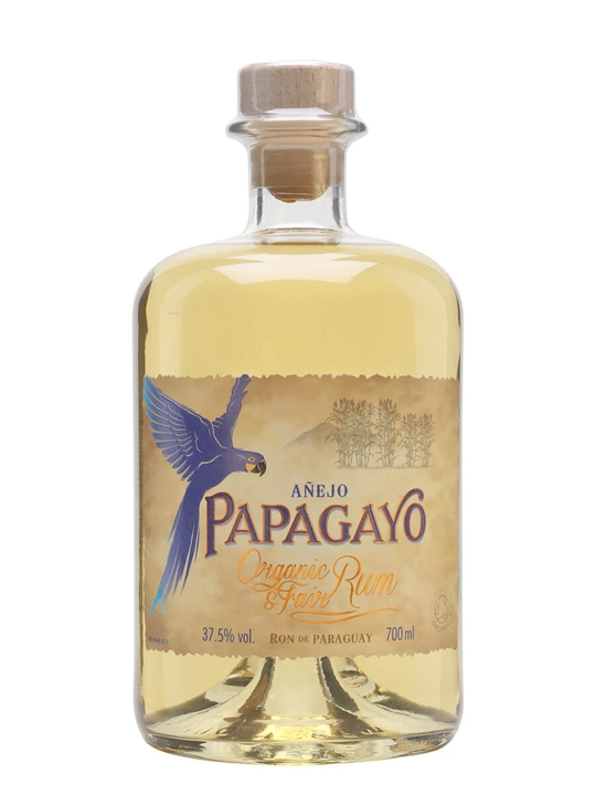 Papagayo Organic Golden Rum Single Traditional Blended Rum