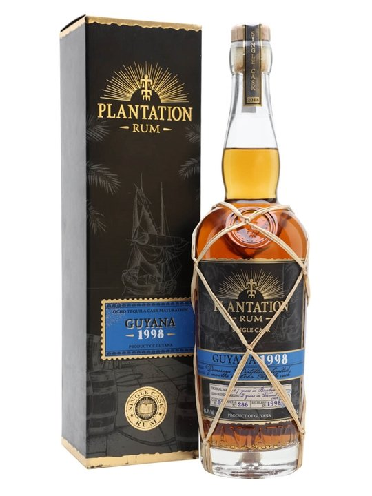 Plantation Guyana 1998 Rum / Ocho Cask Finish