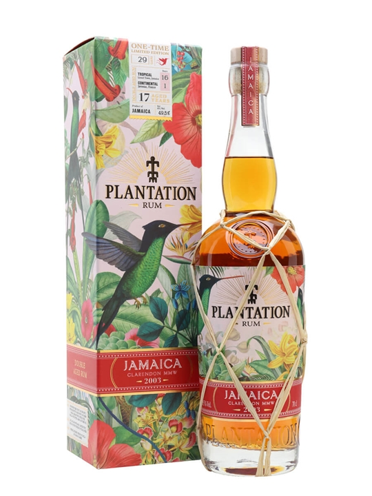 Plantation Jamaica 2003 / 17 Year Old Single Traditional Pot Rum
