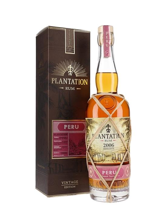 Plantation Peru 2006 Rum Single Modernist Rum