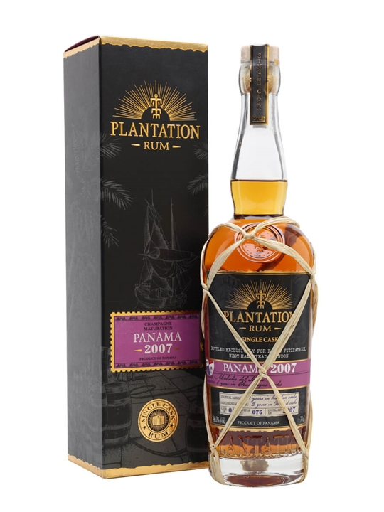 Plantation Panama Single Cask 2007 Rum Single Modernist Rum