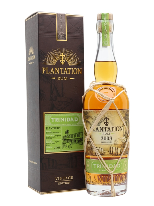 Plantation Trinidad 2008 Rum Single Modernist Rum