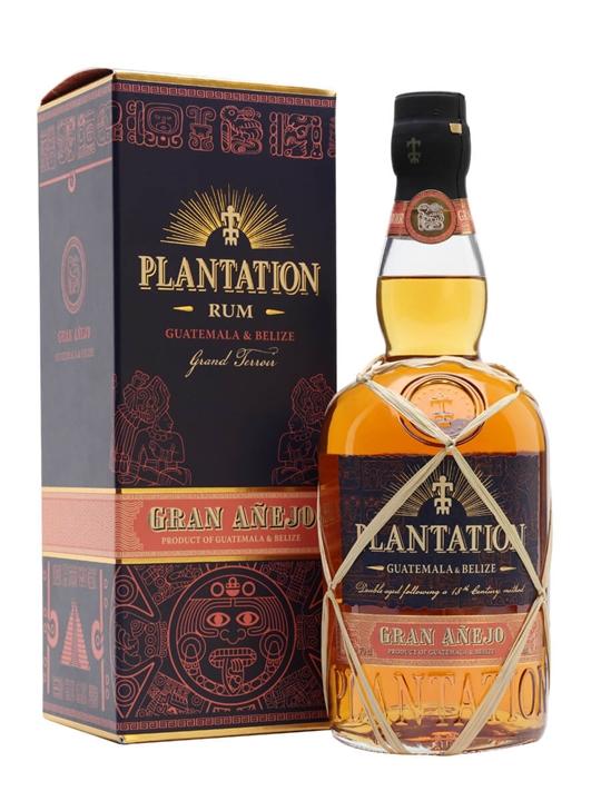 Plantation Gran Anejo Rum / Guatemala & Belize Blended Modernist Rum