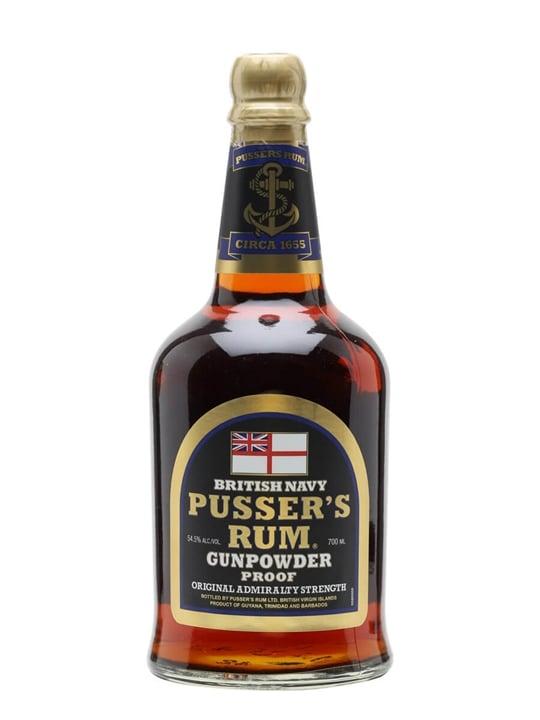 Pusser's Gunpowder Proof British Navy Rum Blended Modernist Rum