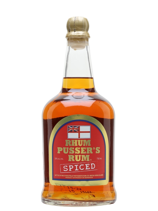 taken a while, but Pusser's have finally ventured into the spiced rum ...