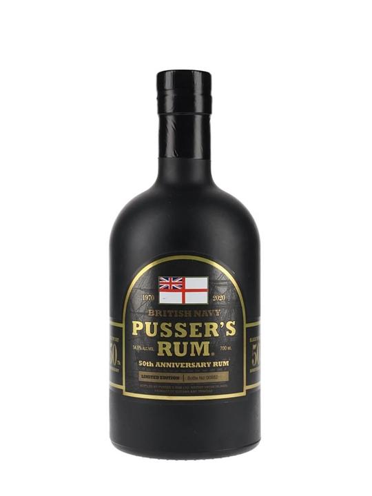 Pusser's 50th Anniversary Rum Blended Modernist Rum