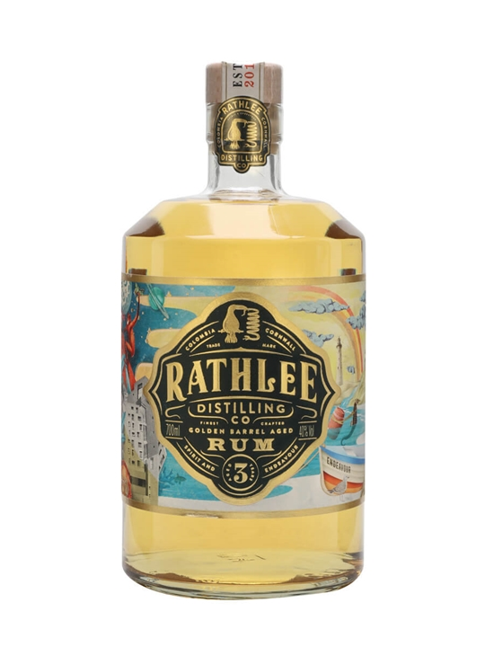 Rathlee Golden Rum Blended Modernist Rum