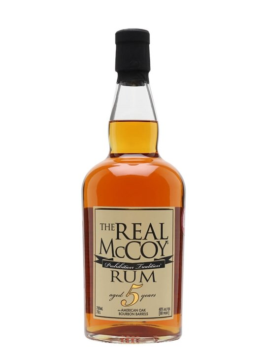 The Real Mccoy 5 Year Old Rum / Bourbon Barrels
