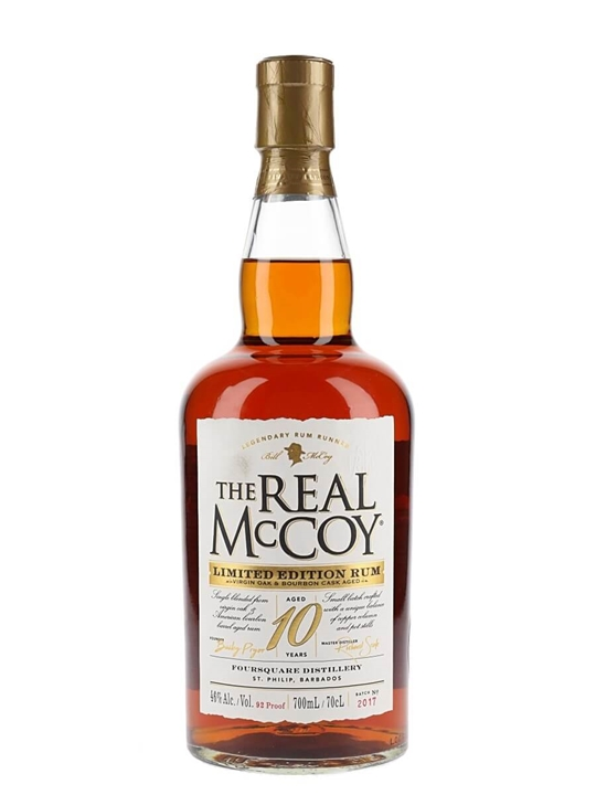 The Real McCoy 10 Year Old Rum / Virgin Oak