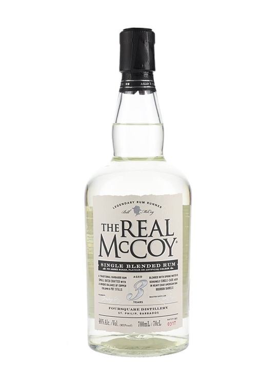 The Real Mccoy Distiller's Proof / 3 Year Old