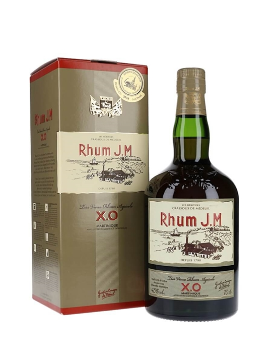 Rhum JM XO / Tres Vieux Single Traditional Column Rum