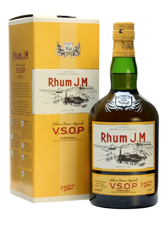 Rhum JM VSOP Single Traditional Column Rum