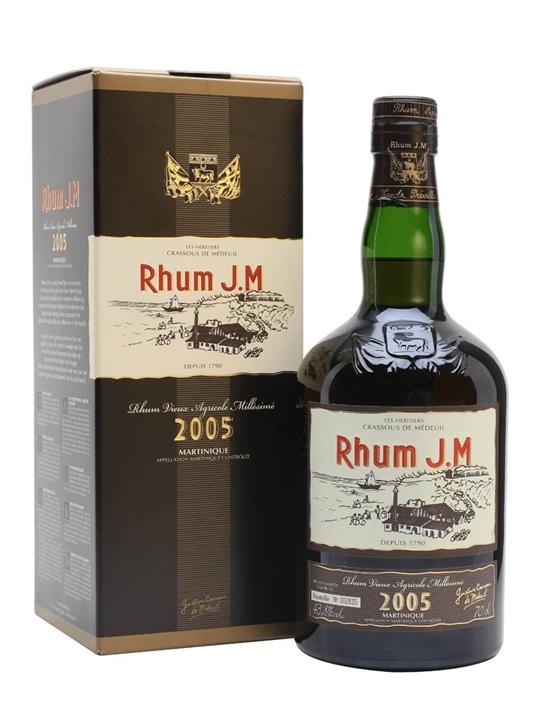 JM Rhum 2005 Single Traditional Column Rum