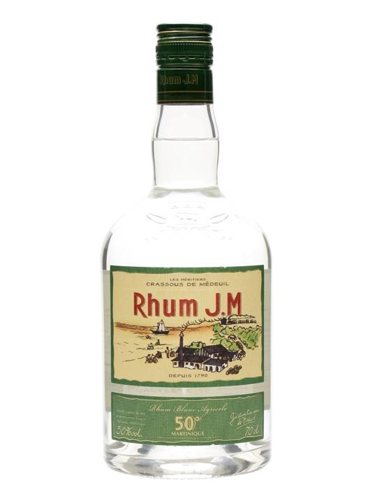 Rhum JM Agricole White Single Traditional Column Rum