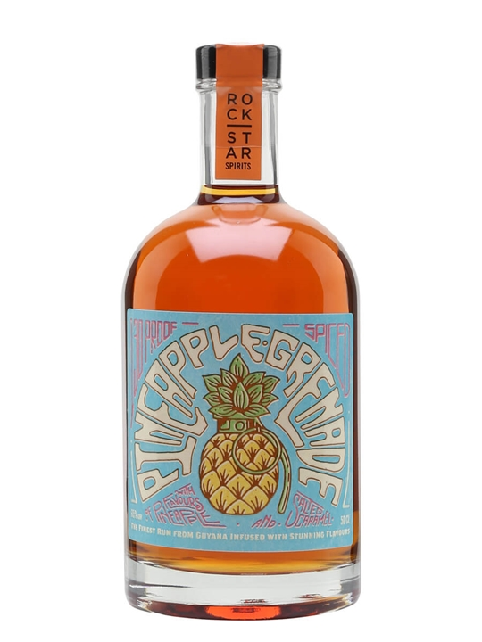 Pineapple Grenade Spiced Rum / Rock Star