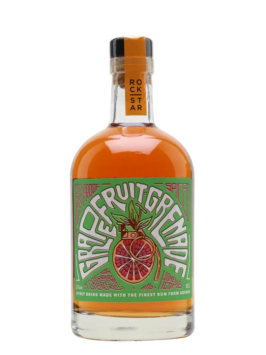 Grapefruit Grenade Overproof Spiced Rum / Rock Star