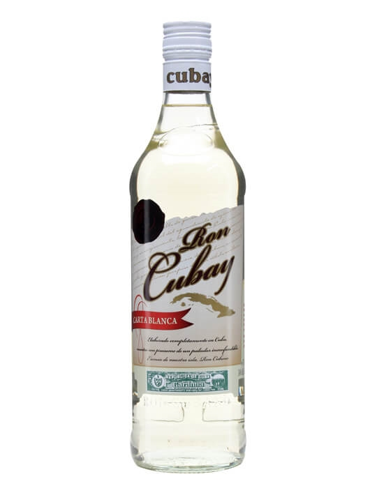 Ron Cubay 3 Year Old Carta Blanca Rum Single Modernist Rum