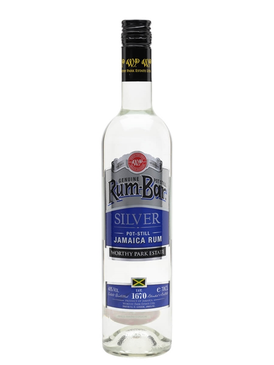 Rumbar Silver Rum Single Traditional Pot Rum