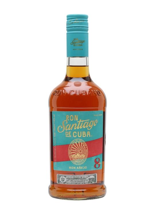 Santiago De Cuba 8 Year Old Single Modernist Rum