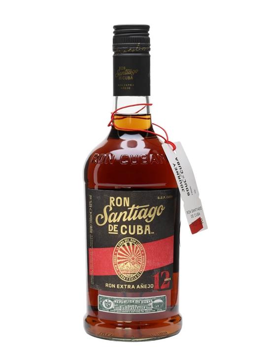 Santiago De Cuba 12 Year Old Extra Anejo Single Modernist Rum