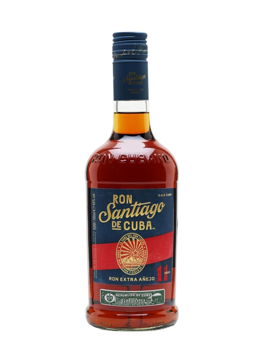 Santiago de Cuba Anejo Superior 11 Year Old Rum Single Modernist Rum