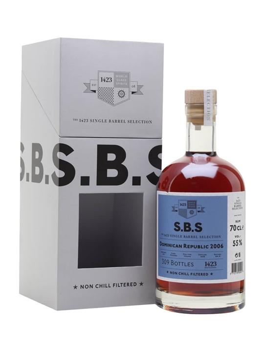 Dominican Republic 2006 Rum / Single Barrel Selection