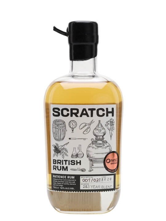 Scratch Patience British Rum Single Traditional Pot Rum