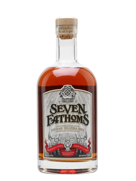 Seven Fathoms Rum Single Traditional Pot Rum