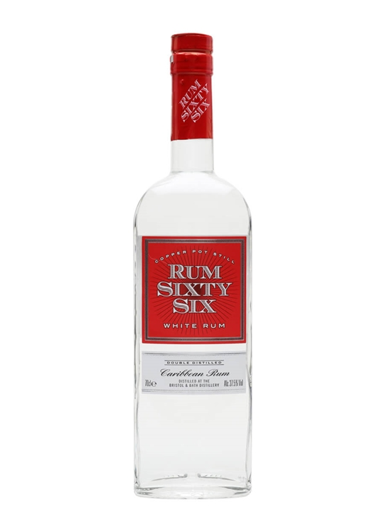 Rum Sixty Six White Rum Single Traditional Blended Rum