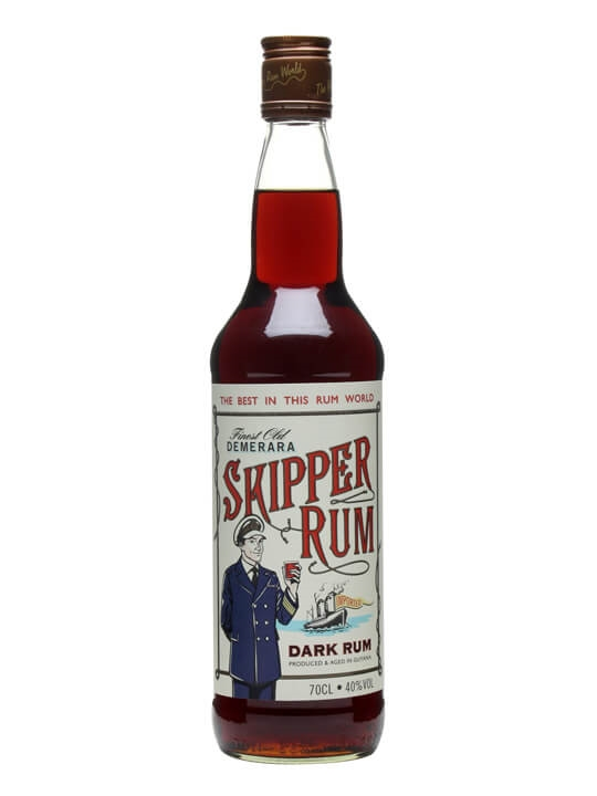 Skipper Demerara Rum Single Traditional Blended Rum
