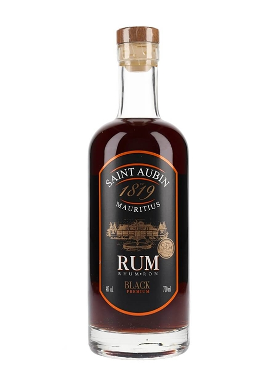 St Aubin Agricole Premium Black Rum Single Traditional Pot Rum