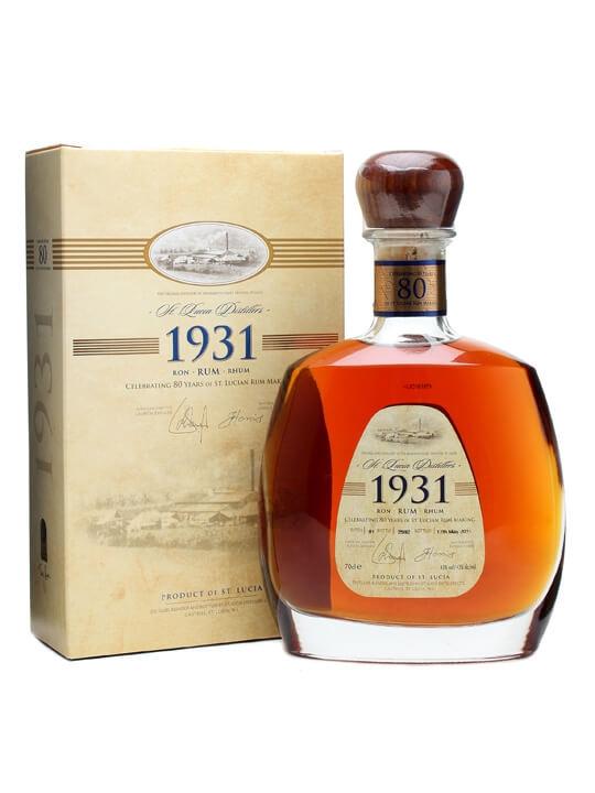 St Lucia 1931 Rum / 80th Anniversary
