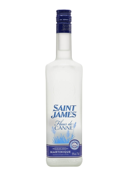 Saint James Fleur De Canne Blanc Rum  Single Traditional Column Rum