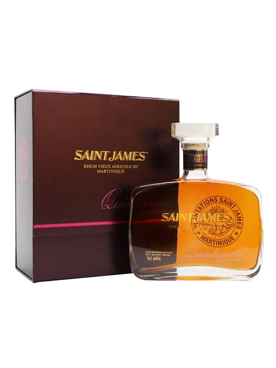 Saint James Quintessence Rum Single Traditional Column Rum