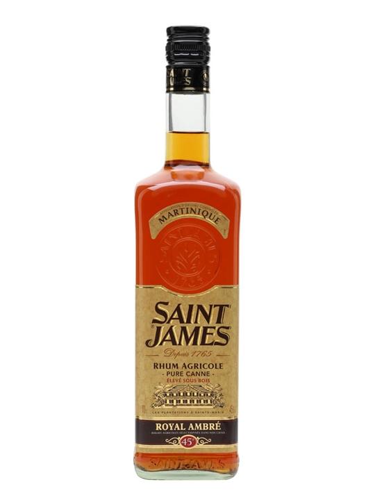 Saint James Royal Ambre Rum Single Traditional Column Rum